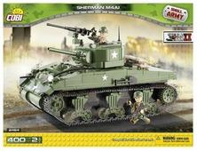 Конструктор Cobi Small Army World War II 2464 Средний танк Шерман М4А1