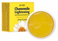 Petitfee Гидрогелевые патчи для глаз с экстрактом ромашки Chamomile lightening hydrogel eye patch