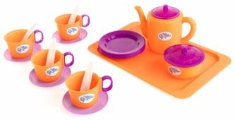 Набор посуды Пластмастер В гостях у котиков 21051