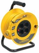 IEK Удлинитель на катушке 4х20м с заземл. 10А IP20 УК20 Industrial с термозащ. 3х1.5