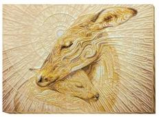 ABRIS ART Набор для вышивания бисером Мамина нежность 41 х 30 см (AB-593)
