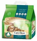 Комкующийся наполнитель Cat's Best Sensitive 8 л/2,9 кг