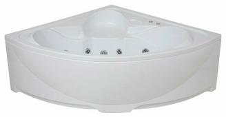 Ванна BAS Дрова с гидромассажем акрил угловая