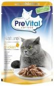 Корм для кошек PreVital с курицей 85 г (кусочки в соусе)