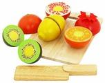 Набор продуктов с посудой Vulpi Фрукты 17011