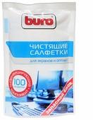 Buro BU-Zscreen влажные салфетки 100 шт. для экрана, для оптики