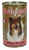 Корм для собак Dr. Alder`s МОЙ ЛОРД СЕНСИТИВ ягненок + рис кусочки в желе Для чувствительных собак