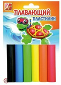 Пластилин Луч плавающий 6 цветов (23С1430-08)
