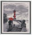 Овен Цветной Вышивка крестом Петербургская набережная 22 х 25 см (703)