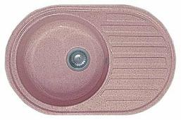 Врезная кухонная мойка GranFest Rondo GF-R730L 73х46см искусственный мрамор