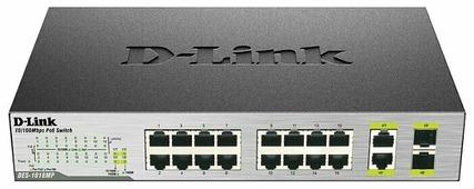 Коммутатор D-link DES-1018MP/A1