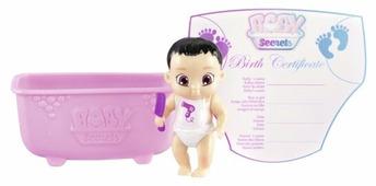 Пупс Zapf Creation Baby Secrets с ванночкой, 2 волна, 6 см, 930-236 в ассортименте
