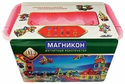 Магнитный конструктор Магникон Мастер MK-118
