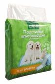 Пеленки для собак впитывающие Triol 30551010 60х60 см