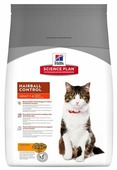 Корм для кошек Hill's Science Plan для вывода шерсти, с курицей