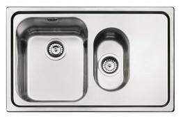 Врезная кухонная мойка smeg SP7915D-2 79х50см нержавеющая сталь