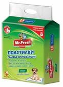 Пеленки для щенков впитывающие Mr. Fresh Expert Start F504 60х40 см