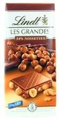 Шоколад Lindt Les Grandes молочный с фундуком