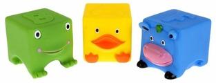 Набор для ванной Играем вместе 3 кубика (LNX27-28-32)