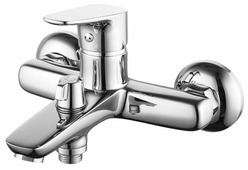 Смеситель для ванны с душем IDDIS Zodiac ZODSB02i02WA однорычажный хром