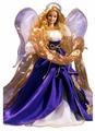 Кукла Barbie Праздничный Ангел в бело-синем наряде, 28080