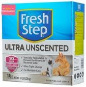 Наполнитель Fresh Step Ultra Unscented (6.35 кг)