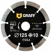 Диск алмазный отрезной 125x2x22.23 GRAFF GDD 18 125.10