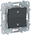 Кнопочный выключатель (кнопка) Schneider Electric NU520754,6А, антрацит