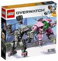 Конструктор LEGO Overwatch 75973 Д.Ва и Ренхардт