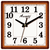 Часы настенные кварцевые Алмаз K15/K18/K38
