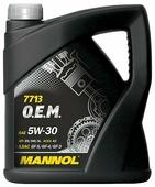 Моторное масло Mannol 7713 O.E.M. 5W-30 4 л