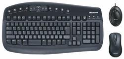 Клавиатура и мышь Microsoft Wireless Optical Desktop 1000 Black USB