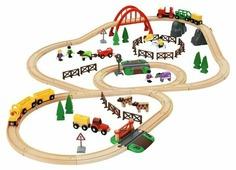 Железная дорога детская Brio Загородная жизнь 33516