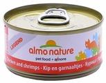 Корм для кошек Almo Nature Legend с курицей, с креветками 70 г