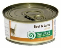 Nature's Protection Корм для кошек Nature s Protection Консервы Cat Adult Beef & Lamb
