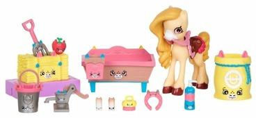 Игровой набор Moose Shopkins Happy Places Роскошная конюшня для пони 56685