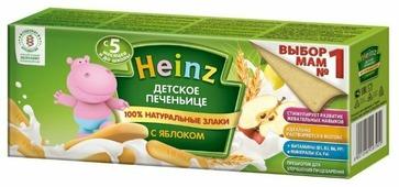 Печенье Heinz с яблоком (с 5 месяцев)