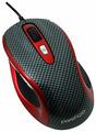 Мышь Prestigio M size Mouse PJ-MSO2 Carbon-Red USB