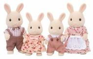 Фигурки Sylvanian Families Семья молочных кроликов 3144
