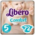 Libero подгузники Comfort 5 (10-16 кг) 72 шт.
