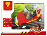 Конструктор DREAMLOCK Fire Rangers 4121