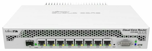 Маршрутизатор MikroTik Cloud Core Route CCR1009-7G-1C-PC