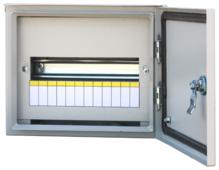 Щит распределительный RUCELF навесной, модулей: 12 ЩРН-12 IP54