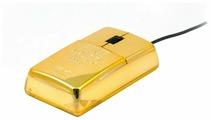 Мышь Satzuma Gold bar mouse Gold USB