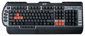 Клавиатура A4Tech X7-G800MU Black-Silver PS/2