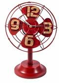 Часы настольные Русские подарки Ретро вентилятор