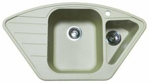 Врезная кухонная мойка Granula 9101 90х50см искусственный гранит