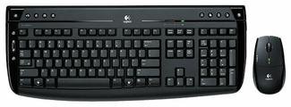 Клавиатура и мышь Logitech Pro 2400 Cordless Desktop Black USB