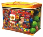 Шарики для сухих бассейнов King Kids 500 штук, 9 см (KK_BL1100-90-500)