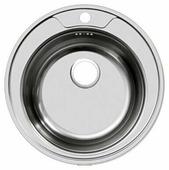 Врезная кухонная мойка UKINOX Favorit FAL 510-GT8K 51х51см нержавеющая сталь